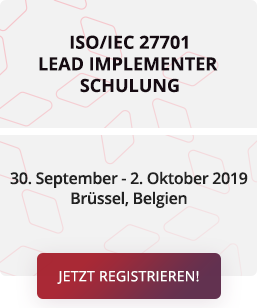 ISO/IEC 27701 Lead Implementer Schulung